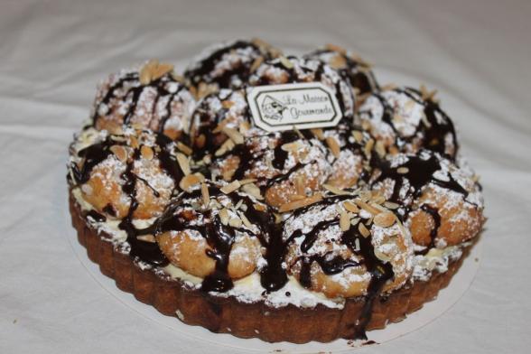 tarte-chouquettes