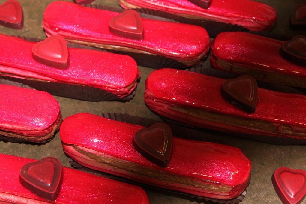 eclair rouge baiser