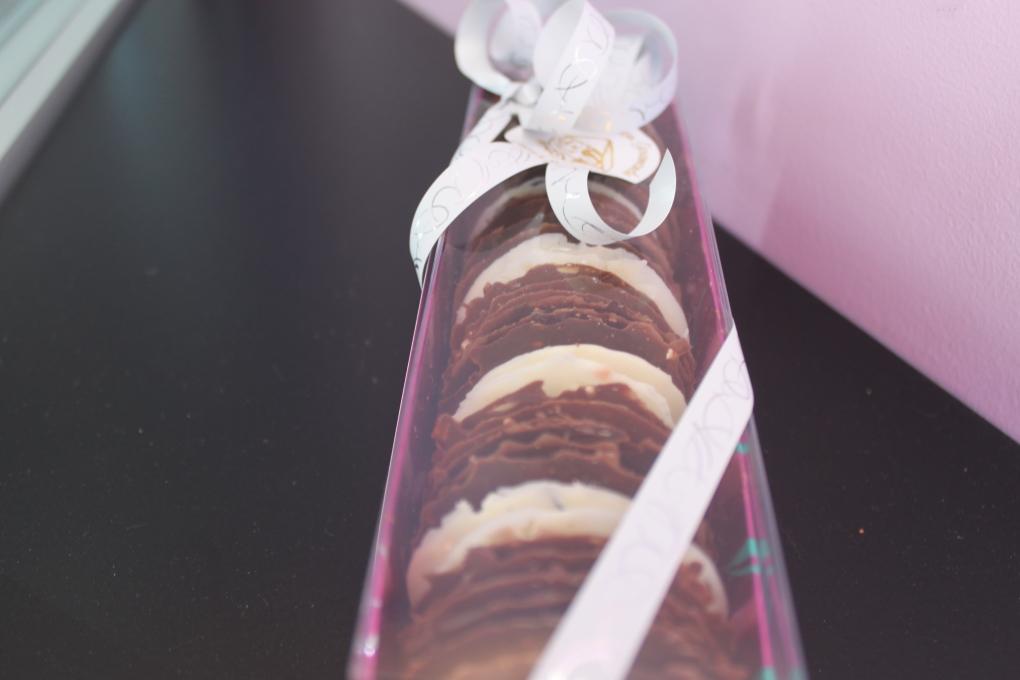 tuiles aux 3 chocolats