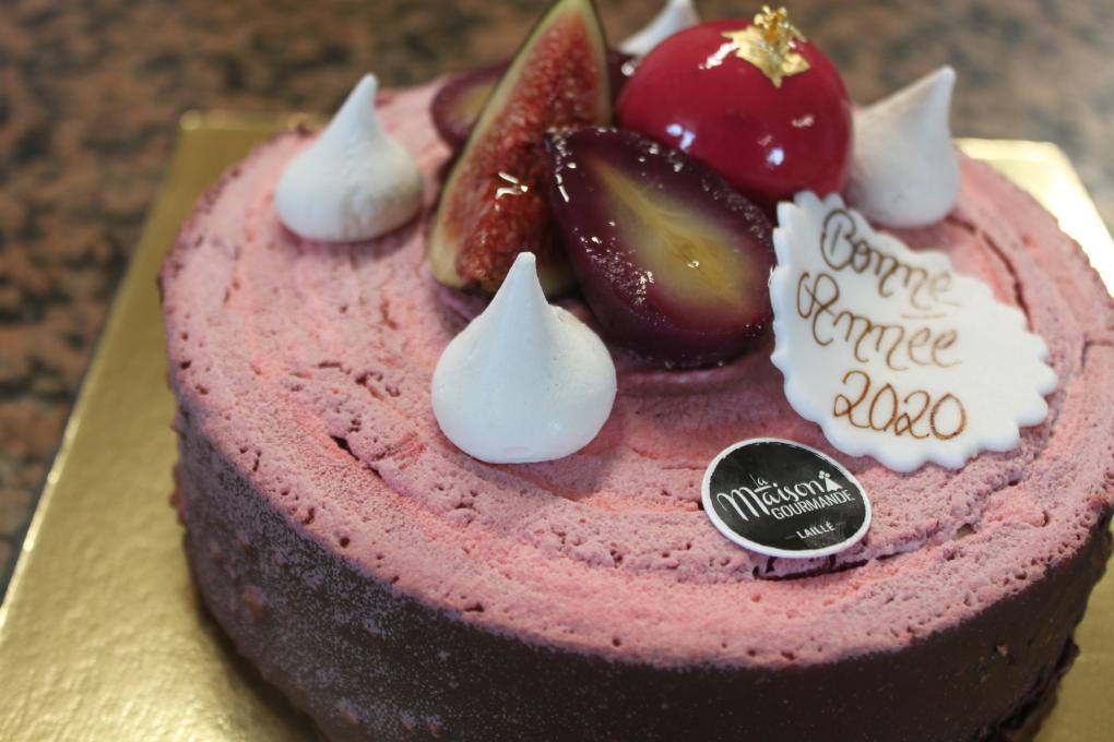 le 20/20 notre gâteau du Nouvel An