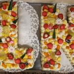 Gâteau lettre